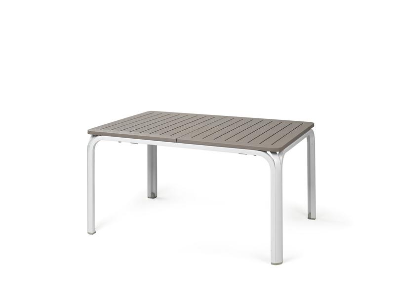Alloro 140 mesa rectangular extensible de nardi monfort for Mesa rectangular extensible
