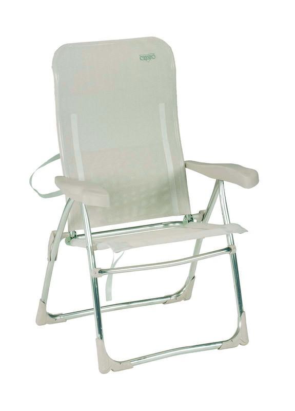 Beach silla playa plegable aluminio 6 posiciones de crespo - Hogar y jardin castellon ...