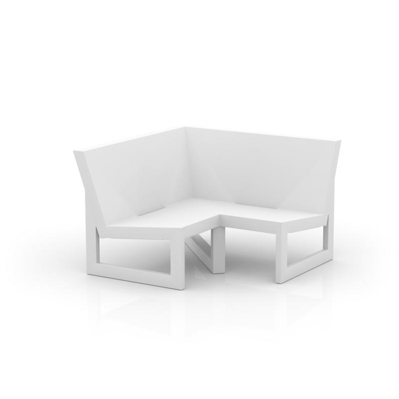 Frame sofa modulo esquina 90 de vondom monfort hogar for Sofa exterior esquina