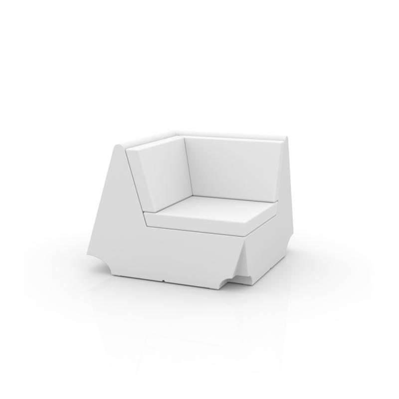 Rest sofa modulo esquina de vondom monfort hogar for Sofa exterior esquina