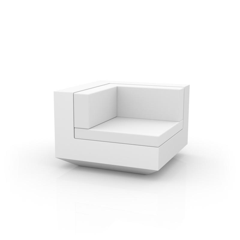 Vela sofa modulo esquina de vondom monfort hogar for Sofa exterior esquina